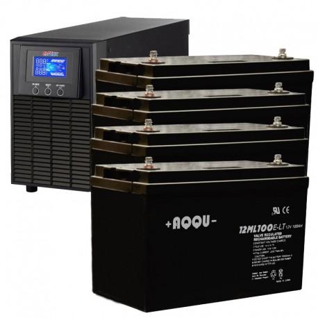ИБП 1 кВт на 3 часа 40 минут
