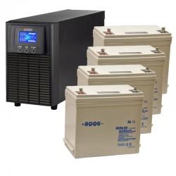 ИБП 1 кВт на 1 час 40 минут