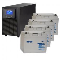 ИБП 1 кВт на 1 час 20 минут