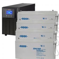 ИБП 1,2 кВт на 4 часа 50 минут