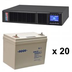 ИБП 4 кВт на 3 часа 10 минут