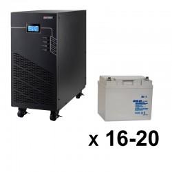 ИБП 3ф/3ф (20/45Ач) до 9 кВт - от 30 мин автономии