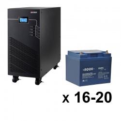 ИБП 3ф/3ф (20/28Ач) до 18 кВт - от 4 мин автономии