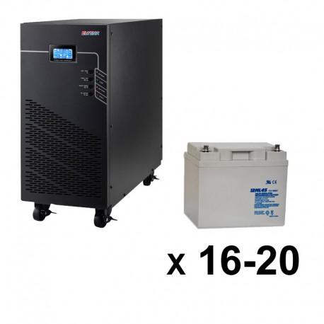 ИБП 3ф/3ф (20/45Ач) до 18 кВт - от 11 мин автономии