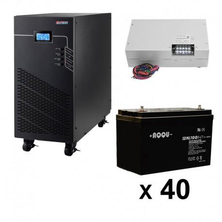 ИБП 3ф/3ф (20/200Ач) до 18 кВт - от 1 часа 35 мин автономии