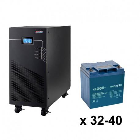 ИБП 3ф/3ф (40/28Ач) до 36 кВт - от 4 мин автономии