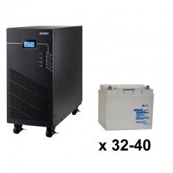 ИБП 3ф/3ф (40/45Ач) до 36 кВт - от 11 мин автономии