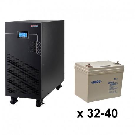ИБП 3ф/3ф (40/75Ач) до 36 кВт - от 25 мин автономии